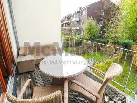 Exklusive 3-Zi.-Maisonettewohnung mit Balkon in Düsseldorf-Oberkassel