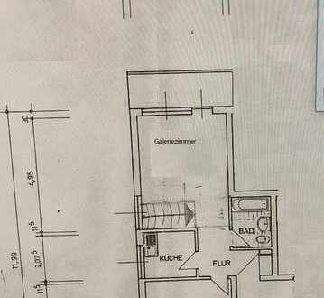 Stilvolle möblierte, gepflegte 2-Zimmer-Wohnung mit Balkon in Griesheim