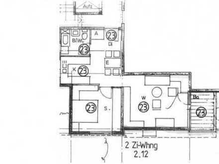 Helle, ruhig & zentral gelegene 2-Zimmer-Wohnung in Seniorenwohnanlage