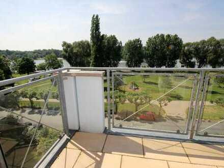 Penthouse-Traum direkt am Rhein!