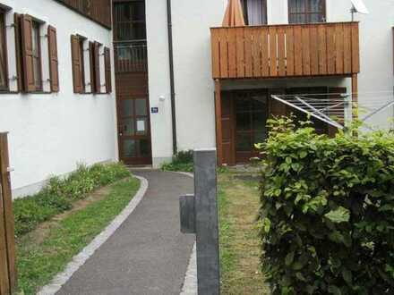 Mitterteich . 1-Zimmer-Wohnung im EG mit Terrasse, WBS I