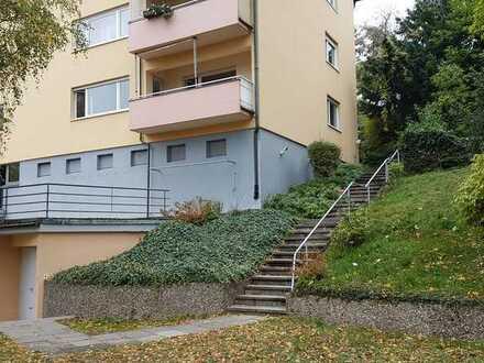 3-Zimmer-Hochparterre-Wohnung mit Balkon in Pforzheimer Nordstadt