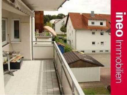 2 Balkone und 2 Etagen mit viel Freiraum für die ganze Familie oder für Arbeiten und Wohnen