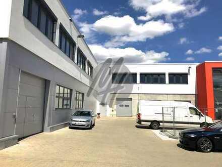 KEINE PROVISION ✓ RAMPE + EBEN ✓ Lager-/Montagehalle (2.250 m²) mit Büro (650 m²) zu vermieten