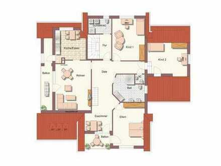 4-Zimmer-Wohnung mit zusätzlichem Dachstudio, kurzfristig frei !