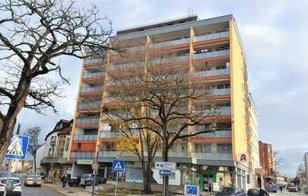 * 1 ½ ZKB mit großem Balkon in der City zur Kapitalanlage *