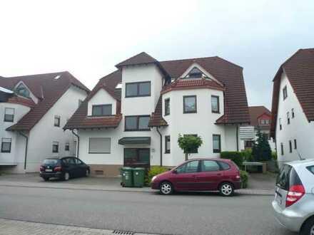 Schön geschnittene Zweizimmerwohnung in gepflegtem Wohnhaus in Reilingen
