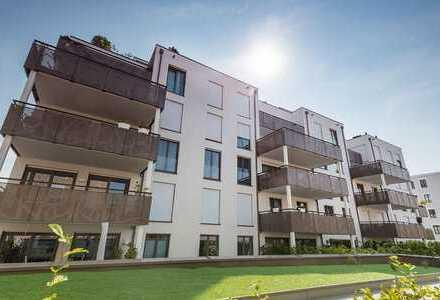 """Moderne 4-Zimmer-Wohnung mit großer Dachterrasse im neuen Stadtgebiet """"Marina Quartier"""""""