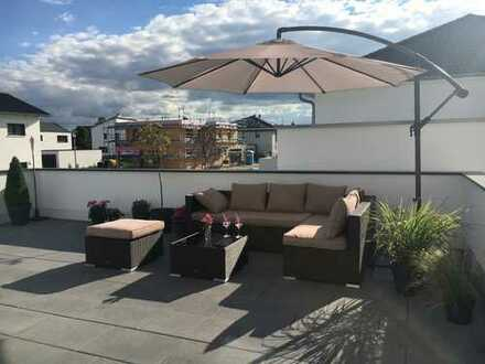 Neubau 4-Zimmer-Wohnung mit Dachterrasse in Bibertal