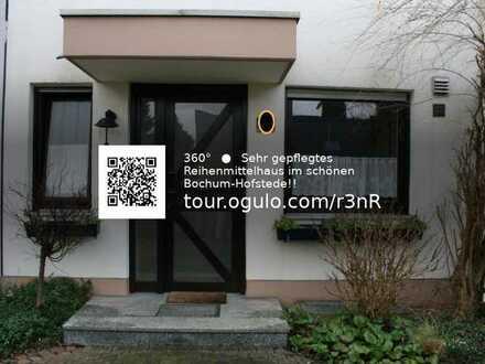 Sehr gepflegtes Reihenmittelhaus im schönen Bochum-Hofstede!!