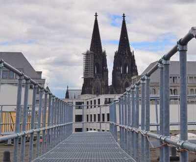 Inspiration & Charme auf hohem Niveau: Möbliertes Büro (ca. 100m²) mit Domblick im Herzen von Köln