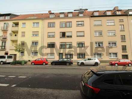 Vermietete 5-Zimmer-ETW in zentrumsnaher Lage von Alt-Saarbrücken