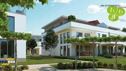 Neubau Am Schwimmbad, Seligenstadt, 4-Zimmer Wohnung OG, Haus 1, Whg 13, mit Balkon