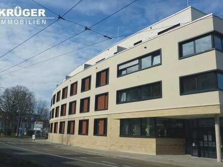 tolle 2-Zimmer-Penthouse-Wohnung mit EBK in moderner Neubau-Wohnanlage mit Dachterrasse