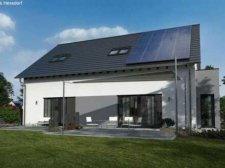 neues Mehrfamilienhaus mit großer Einliegerwohnung Nähe Gunzenhausen