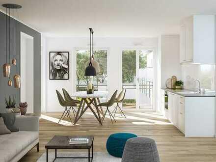 Die Kleine-Maisonette: 4-Zi.-Familien-Maisonette-Wohnung - 3 Etagen - 2 Balkone - Südterrasse