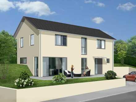 Haus in ökologischer Bauweise