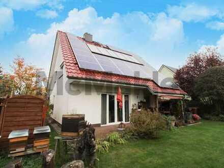Komfortabel und umweltschonend: Modernes EFH mit Garten an den Kaulsdorfer Seen