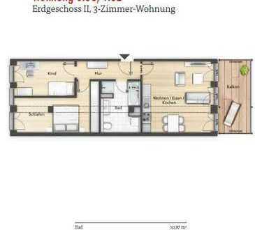 EXKLUSIVE 3 ZIMMERWOHNUNG IN ZENTRALER LAGE IN HERZOGENAURACH