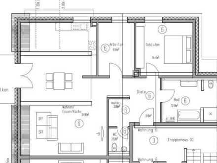 3 Zimmer Dachgeschosswohnung mit 2 Tiefgaragenplätzen (Wohnung Nr. 6)