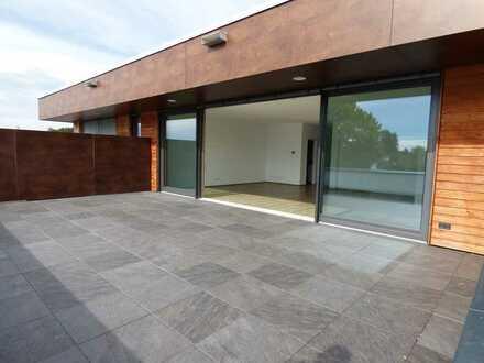 Hochwertige 3-Zimmer-Wohnung mit Dachterrasse in Memmingerberg