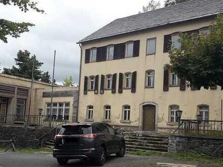 Hotelgebäude in Lückendorf an der Tschechischen Grenze