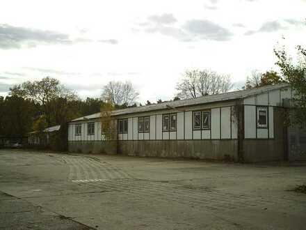 Günstig in Zentrumsnähe - Hallen und Freilager