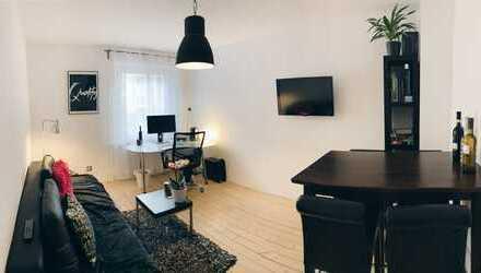 Schöne 2-Zimmer-Hochparterre-Wohnung mit EBK im Woogsviertel (WG-Geeignet)