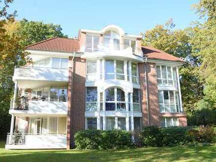 Bad Zwischenahn: Exklusive Penthousewohnung mit vier Balkonen und Aufzug in begehrter Lage,Obj. 4881