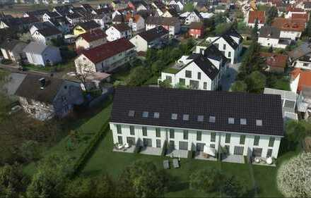 """NEUBAUPROJEKT: """"JUNGES WOHNEN""""  Reihenendhaus Nr. 1 6-Zimmer mit Terrasse und Garten"""