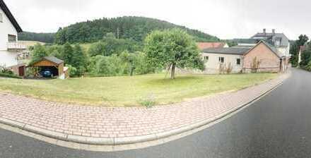 ***HTR Immobilien GmbH*** Idyllisches Baugrundstück mit angrenzender Wiesenfläche am Bachlauf!!!