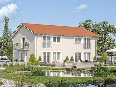 Neubau Doppelhaushälfte auf Keller KfW40 inkl. Grundstück in Münklingen