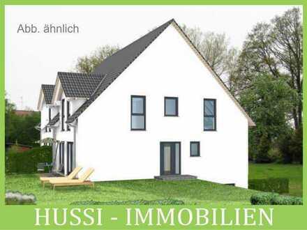 Obernburg: Grundstück + DHH in Hanglage als Rohbau, Ausbauhaus oder schlüsselfertig