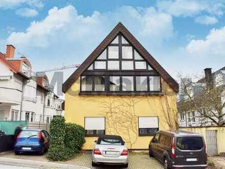 Großzügiges, individuelles Architektenhaus mit Balkon und Wintergarten in Zentrumsnähe in Wiesloch