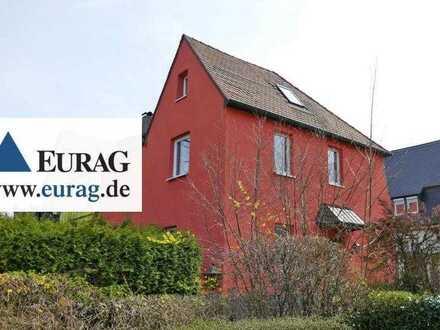N-Laufamholz: Helle Doppelhaushälfte mit 5-6 Zimmer, Garten, Garage