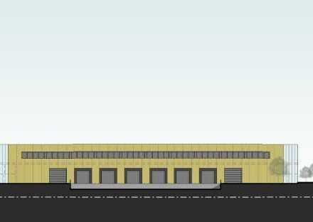 PROJEKTIERTE RAMPENHALLE (ca. 4.090 m²) PROVISIONSFREI ZU VERMIETEN -BÜRO AUF ANFRAGE ab 200 m²