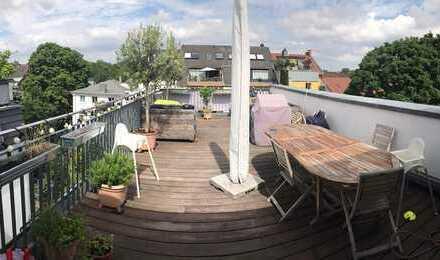 Exklusive 5-Zimmer-Maisonette-Wohnung mit Terrasse in Ehrenfeld, Köln