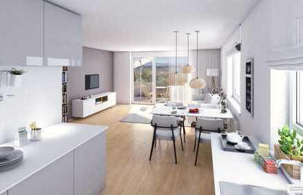 Lichtdurchflutet - Weitsicht - perfekter Preis! 4-Zimmer-Neubauwohnung