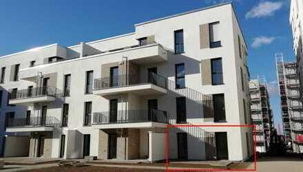 Neubau(Einbauküche Lampen Garden) : Exklusive 3-Zimmer-Wohnung in der HD-Bahnstad