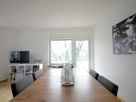 In der Oststadt leben und wohnen: 2-Zimmer-Wohnung mit Balkon und traumhafter Aussicht
