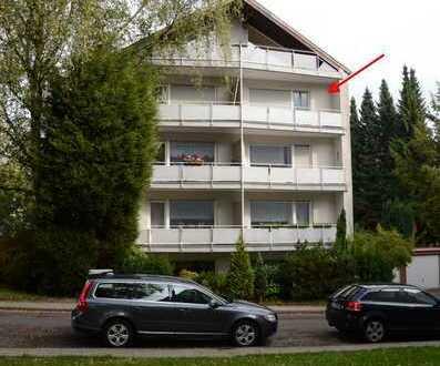 Modernisierte sonnige 1,5-Raum-Wohnung mit Balkon in Essen-Bergerhausen