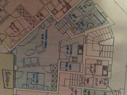 Provisionsfrei von privat: Gepflegte 2-Zimmer-Wohnung mit Balkon und Einbauküche in Passau