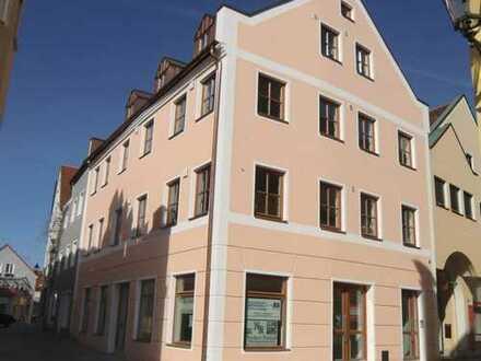 Stadtmitte von Abensberg - Neubau von Eigentumswohnungen und einer Gewerbeeinheit