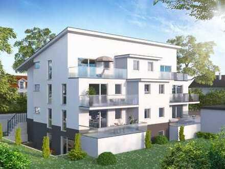 Neubau Mehrfamilienwohnhaus mit 7 Wohneinheiten 3 u. 4 Zi./Aufzug u. Garagen in ruhiger Lage