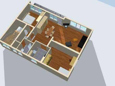 Sonnige 3-Zimmer Wohnung in ruhigem Mehrfamilienhaus