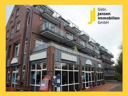 Wohnen & Shoppen unter einem Dach! Hochwertige Eigentumswohnung aus 2018 in Bensersiel!
