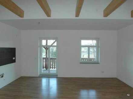 Sehr schöne 3-Zimmer-Dachwohnung mit großem Balkon, hochw. Laminatboden, Fußbodenheizung & Marmorbad