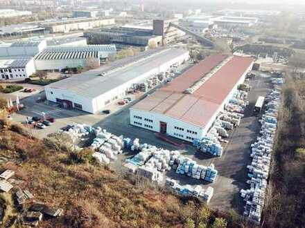 Ausstellungs- und Logistikflächen in Halle (West)