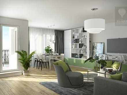 Traumhafte 4-Zimmerwohnung mit ansprechnder Süd/West Terrasse.
