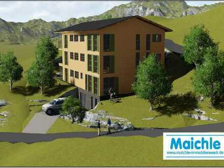 Oberstdorf - Mittelberg (Kleinwalsertal): Mehrfamilienhaus mit 5 Wohneinheiten und Tiefgarage